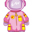 Astronaut — Stock Vector
