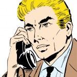 Businessman talking on phone — Stock Photo #2998922