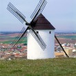 Windmills -  Castilla-La Mancha. Spain - Stock Photo