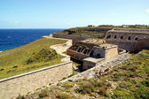 Fortification LA MOLA-Menorca-Baleares-Spain — Stock Photo
