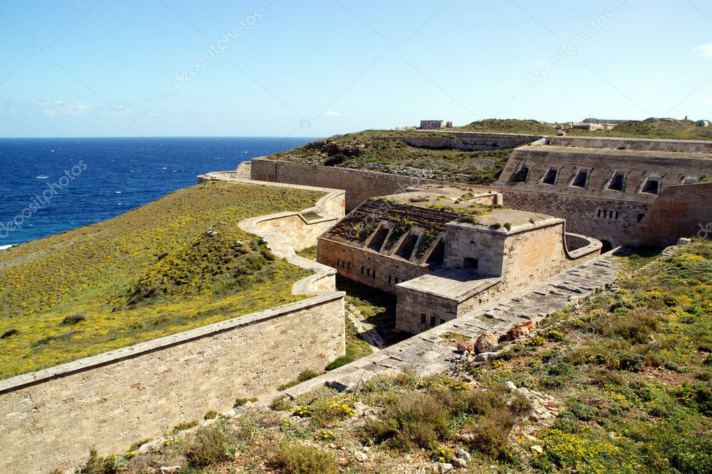 Fortification LA MOLA-Menorca-Baleares-Spain — Stock Photo #3002673