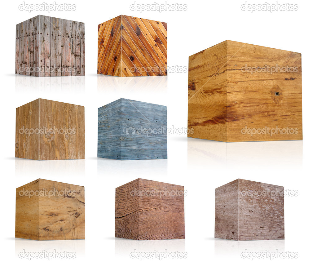 Cubi in diversi tipi di legno foto stock pakmor 3306385 - Diversi tipi di carta ...
