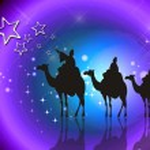 Illustration Christmas Background , Christmas Card — Stock Photo