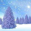 Illustration Christmas Background , Christmas Card — Stock Photo #3757711