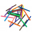 Colored felt tip pens — Stock Photo #3662799
