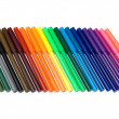 Colored felt tip pens — Stock Photo