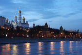 Clase hermosa en el kremlin de moscú — Foto de Stock