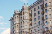 High beautiful building is in Moscow — Stock Photo