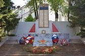 Monumento a los soldados de la soldadesca en ciudad perm — Foto de Stock