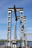 Sluice construction — Photo