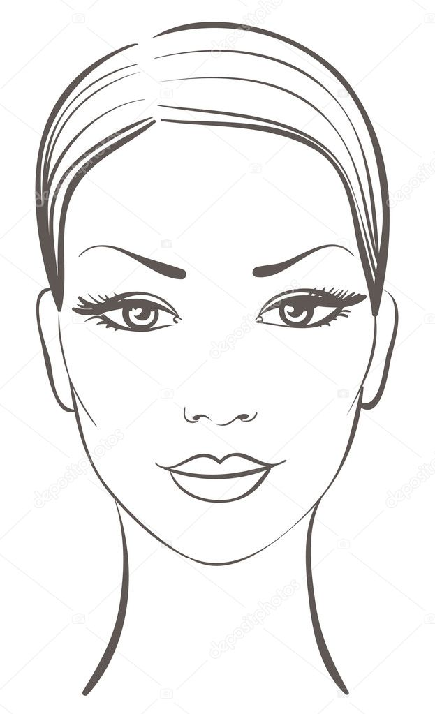 Beautiful woman face — Stock Vector #3124150