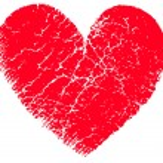 Red vector heart — Stock Vector #3777405