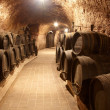 Stock Photo: Corridor in winery