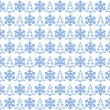 Light blue christmas pattern — Stock Photo