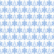 Light blue christmas pattern — Stock Photo #2699818