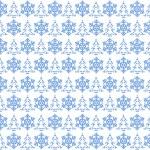 Light blue christmas pattern — Stock Photo