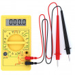 Digital multimeter on white background - Stock Photo
