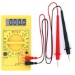 Stock Photo: Digital multimeter on white background
