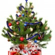 Christmas Tree and Gifts — Stock Photo #2778334