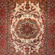 Background Turkish silk carpet — Stock Photo #2778394