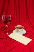Romantyczny deser — Zdjęcie stockowe