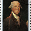Post stamp with portrait of George Washington — Stock Photo
