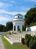 Small chapel on the military cemetery — Foto Stock