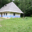 Ukrainian hut — Stock Photo