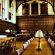 Stock Photo: Magdalen College : Dining room