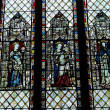 Queens - Windows of the Chapel — Stock Photo