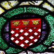 Stock Photo: Heraldry of Kings from dining room