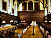 Magdalen College : Dining room — Stock Photo
