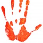 Hand print — Stock Photo #2793623