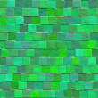 Green mosaic — Stock Photo