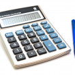 Calculator and pen — Stock Photo #2794743