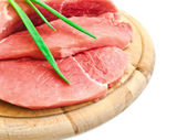 Meat and vegetavles — Stock Photo