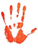 Hand print — Stock Photo