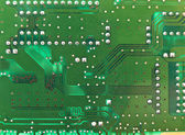 Green microcircuit may — Stock Photo
