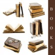 Books set — Stock Photo