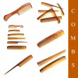 Comb set - Stock Photo