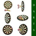 Darts set — Stock Photo