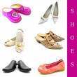 Royalty-Free Stock Photo: Shoes set
