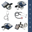 Stock Photo: Health set