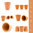 Ceramic set - Stock Photo