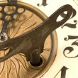 Close up clock — Stock Photo