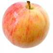 Red apple on white - Foto de Stock  