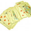 Playing cards — Foto de Stock