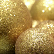 Gold baubles — Stock Photo #2953783