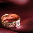 golden ring — Stock Photo