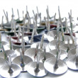 Thumb tacks peaks - Stock Photo